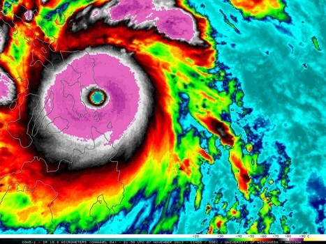Haiyan Slams Into the Philippines, Likely the Strongest Landfalling ... | Social Studies | Scoop.it