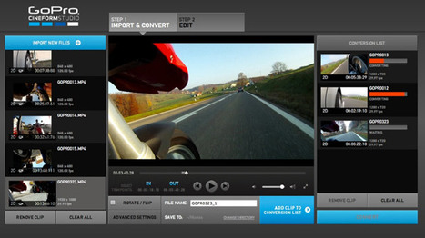 GoPro Hero2 Footage Now Ready for 24p Pipelines | GoPro Fun | Scoop.it
