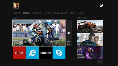 Microsoft's new Xbox One | Second Screening | Scoop.it