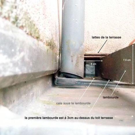 rejaillissement descente d 39 eaux pluviales sur t. Black Bedroom Furniture Sets. Home Design Ideas