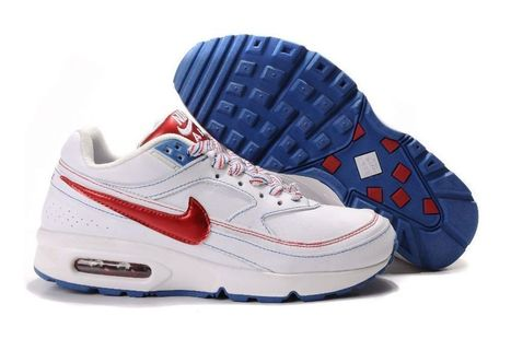 Chaussures Nike Air Max Bw Femmes Blanc Rouge Bleu Cher | fashion outlet | Scoop.it