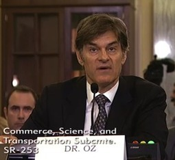 """Dr. Oz Grilled By Senator Over """"Miracle"""" Weight-Loss Claims 
