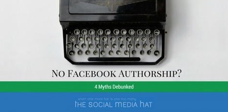 Why Haven't You Set Up Facebook Authorship? | Social Media and the economy | Scoop.it