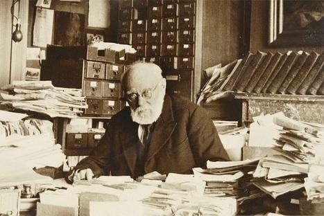 Paul Otlet, l'homme qui inventa le « Google de papier » | Library & Information Science | Scoop.it