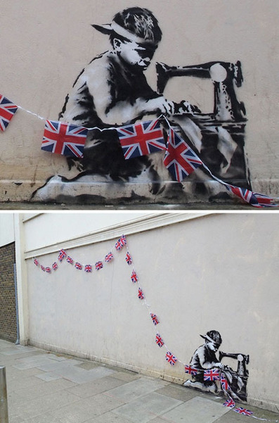 Street Art Olympics: Banksy Works on 2012 London Games | WebUrbanist | World of Street & Outdoor Arts | Scoop.it