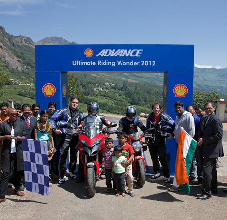 Shell Advance 7 Riding Wonders Comes to an End on the Spectacular Coorg- Ooty- Munnar Route in India | Moneylife | Ductalk Ducati News | Scoop.it