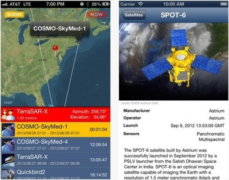SpyMeSat spy satellite tracking app lets you watch the watchers - SlashGear   How to Parental Controls for Cell Phones   Scoop.it