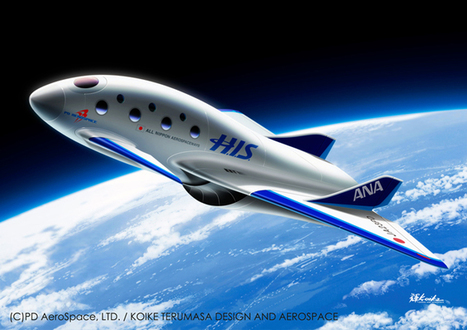 ANA, H.I.S. plan outer-space tours in 2023 for 14 million yen:The Asahi Shimbun | New Space | Scoop.it