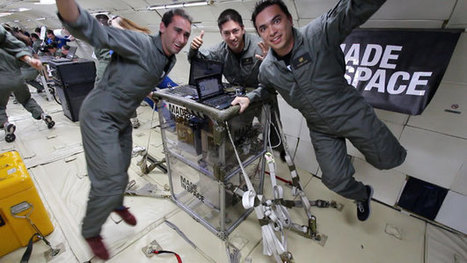 3D Printer Headed for the ISS Passes Critical Microgravity Flight Tests | SpaceRef | The NewSpace Daily | Scoop.it