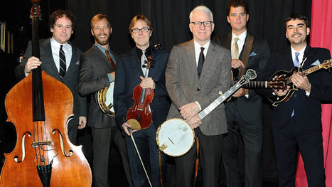 Man and Banjo: Steve Martin's Lifelong Passion   The Basics to Bluegrass   Scoop.it