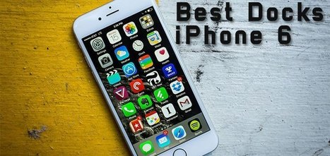 10 Best iPhone 6 & 6 Plus Charge & Sync Docks 2015 | Top Ten Lists | Scoop.it