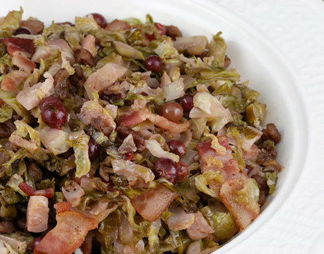 Brussels Sprouts Saute with Bacon, Pecans and Red Grapes | Foodie | Scoop.it