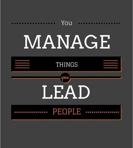 Manager ou leader: Y a-t-il une différence? | Stratégie, pédagogie et ingénierie d'e-formation | Scoop.it