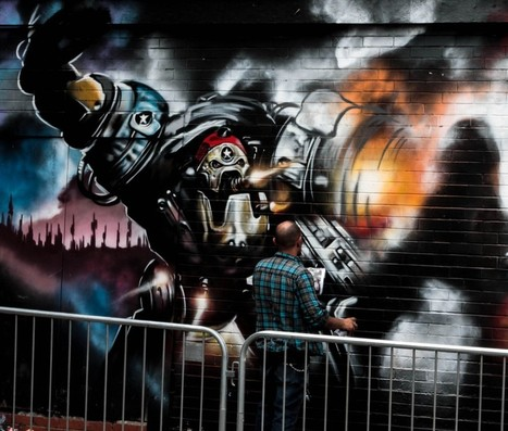 City of Colours Street Art Festival - Birmingham,UK | Photoshopography | Scoop.it