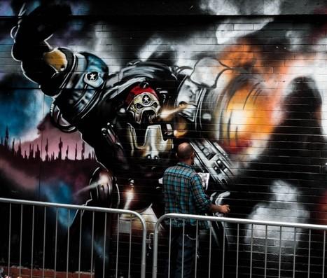 City of Colours Street Art Festival - Birmingham,UK   Photoshopography   Scoop.it