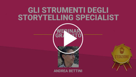 Gli strumenti degli Storytelling Specialist [FREE MASTERCLASS ON DEMAND] - Ninja Marketing | Running - Storytelling: un unicum | Scoop.it