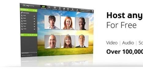 Free Web Conferencing Software, Free Online Meetings, Free Webinar Service Providers | AnyMeeting | SchooL-i-Tecs 101 | Scoop.it