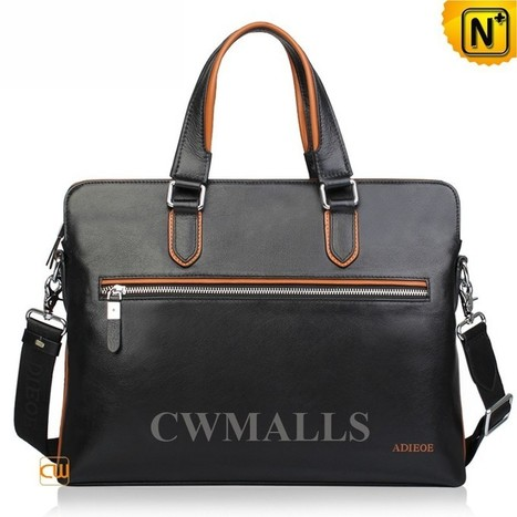 CWMALLS® Leather Computer Briefcase Bags CW914007   Mens Business Bags   Scoop.it