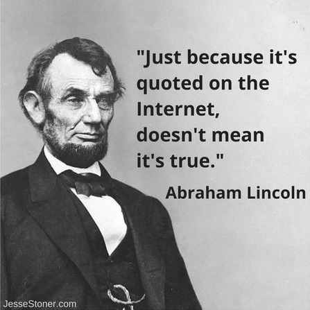 Accuracy on the Internet: The Price of Freedom is Personal Responsibility   T.I.P.S. Tracking   Scoop.it