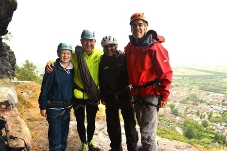 MPs scale Helsby cliff to promote benefits of outdoor recreation - British Mountaineering Council | The sociology of tourism, sport and recreation | Scoop.it
