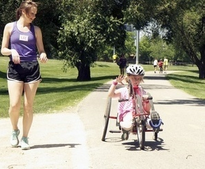 Riding High: Course makes biking accessible to children with disabilities (July 24, 2013) | Accessible Tourism | Scoop.it
