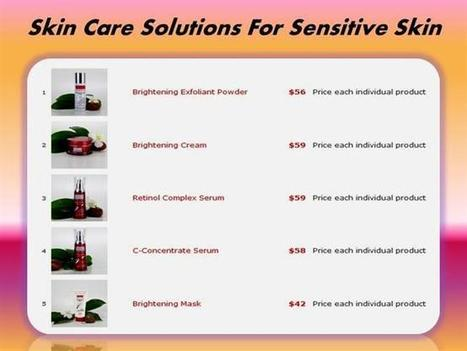 Skin Care Solutions for Sensitive Skin | MD-7 Cosmeceuticals | Scoop.it