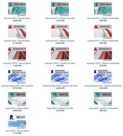 Logiciels Autodesk achat ou location   3D Library   Scoop.it
