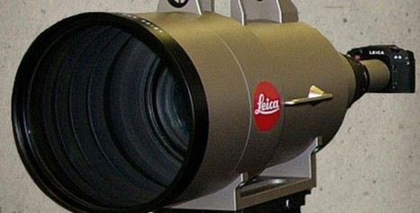 Leica APO-Telyt-R 1:5.6/1600mm, The Most Expensive Lens in History - Bubblews | Leica | Scoop.it