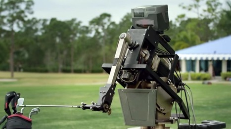 Robot golfer hits hole-in-one | Robohub | Une nouvelle civilisation de Robots | Scoop.it