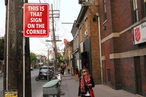 New Toronto street signs state the obvious | SILLY STREET | Scoop.it