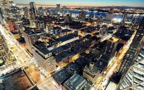 Colorful New York. Download widescreen images of cities of different countries. New York, USA. | CityWallpaperHD | Scoop.it