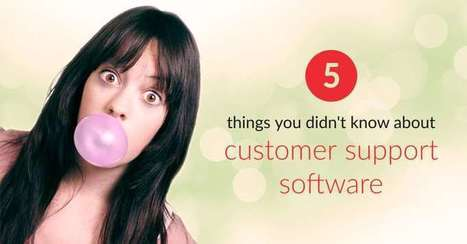 5 Things You Didn't Know About Customer Support Software | Online Help Desk Software | Scoop.it