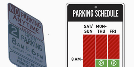 A Redesigned Parking Sign So Simple That You'll Never Get Towed   Design   WIRED   Digital Constructionism   Scoop.it