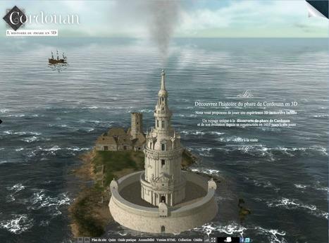 Le phare de Cordouan à travers les âges grâce à la 3D interactive // Discover the Cordouan lighthouse through the ages | 3D Experiences | Scoop.it