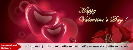 Valentines Gifts, Send Unique valentines day gifts Online   Valentinegifts4u.com   Online valentine gifts   Scoop.it