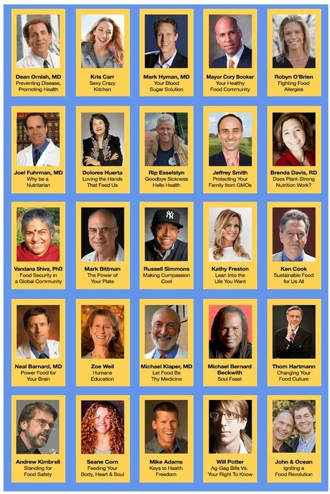 The Food Revolution Summit with John and Ocean Robbins | Food issues | Scoop.it