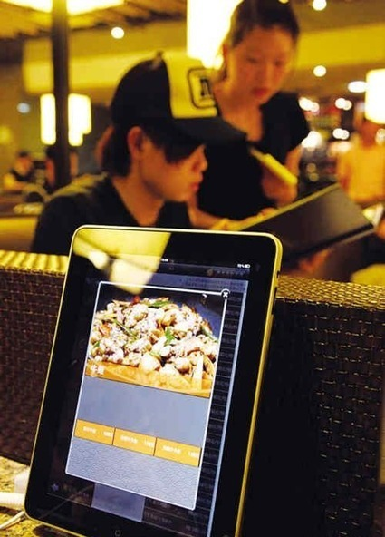 Using iPad as menu to order food, restaurant becomes hot topic | ChinaHush | Vertical Farm - Food Factory | Scoop.it