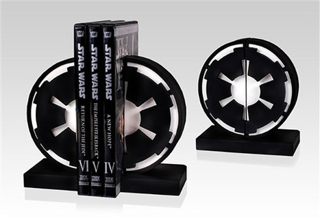 Star Wars Imperial Seal Bookends: Knowledge is Power. UNLIMITED POWER | Facts and quotes | Scoop.it