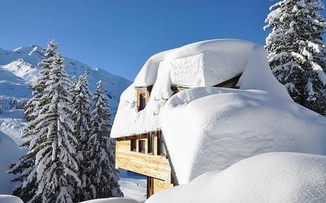 Alpine snowfall records smashed last season - Telegraph.co.uk | Avoriaz | Scoop.it