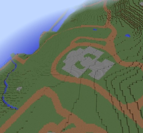 Historical Maps in Minecraft | Videogames and Reality | Scoop.it