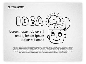 From Idea to Money Presentation Template | PowerPoint Diagrams, Charts, and Shapes | Scoop.it