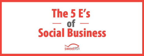 The 5 E's of Social Business - Podcast Production for B2B Companies | LinkedIn for business | Scoop.it