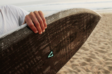 Eco-surfboard made from recycled cardboard • Materia | ZenStorming - Design Raining Innovation | Scoop.it