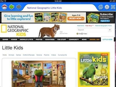 10 Kid-Friendly Browsers for the iPad | Everything Apple - iPhone, iPad and Mac | Scoop.it