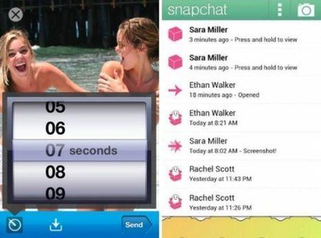Des pirates informatiques crackent Snapchat et publient des images | Métiers du numérique | Scoop.it