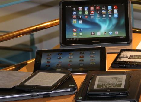 Vous voulez vous former à l'usage des tablettes et des liseuses électroniques ? L@telier T@BLIRE vous dit tout ! | Utilisation des tablettes en médiathèque | Scoop.it