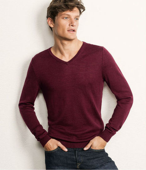 "Fall-Winter 2012-2013 Men's Fashion Colors (II): Bordeaux ""Burgundy"" 