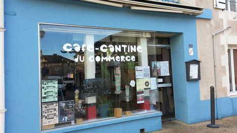 Ce café de Gençay a ouvert grâce aux dons des habitants | CaféAnimé | Scoop.it