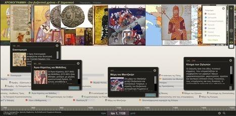 Χρονογραμμή - Ιστορία Ε΄ τάξης Δημοτικού - Στα βυζαντινά χρόνια | Σημαντικά & Εφήμερα | Scoop.it