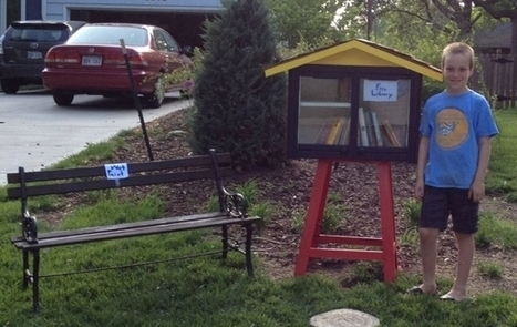 A boy and his little library: free and legal | The Book Haven | An Approach to Motivating Learners to Read in European Schools | Scoop.it